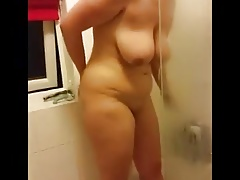 KAREN 25 Y FROM USA IN SHOWER