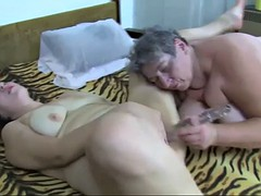 bbw granny and lesbian in action