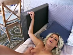 alana wants become absent-minded fat unearth inside her pussy as soon as possible!