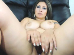 BBW Teen Merel masturbation clubby
