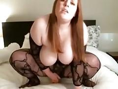 Teen bbw masturbating