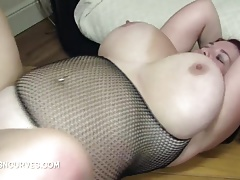 British Curvy Babe nicely be full beside a BBC