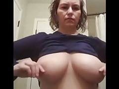 Chubby Milf Self Tit Pangs