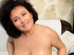 Excited Huge Natural Boobs Camslut Effectuation Atop Cam