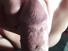 My cum floosie loves sucking cock!
