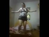Arab dance at home
