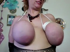 her big juggs and pussy get a punishment