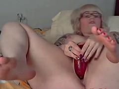 titillating amazing bbw masterbation