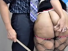 nirvana die for - bbw gets pounded in ass for creampie
