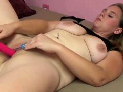Dani Arcadia is fucking her beamy white-hot dildo