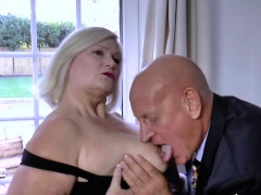 AgedLovE Businessman Came to Fuck Busty Full-grown