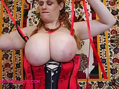 Ribbons and massive boobs
