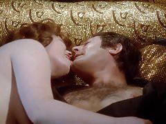 Andrea Ferreol Teasing and Tongue Kissing