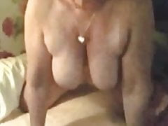 Big titties granny