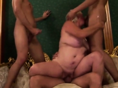 Chubby tits mature piss plus facial