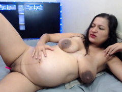 Latin BBW MILF Serves Fat Dark-skinned Man and His Cock