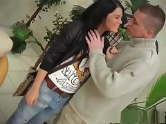 Incredible pornstar Madison Parker in amazing brunette, creampie grown up scene