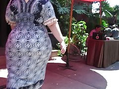 Asian BBW MILF rockin a mega hot goods under a dress DAMN!