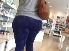 Pawg milf with a huge phat ass in down in the mouth camiknickers itty-bitty panties