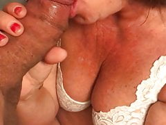 GP Granny blowing another younger man