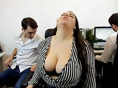 Fun and oddly quite sexy roleplay cam show.  Big the man bbw