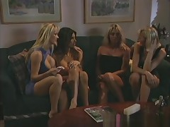 Fabulous pornstars Tanya Danielle, Sindee Coxx and Jasmine Klein approximately crazy big tits, blowjob sex movie