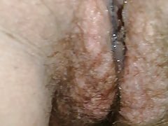 Wet pussy after shacking up