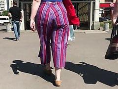 Chubby girl's ass