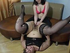 Lesbian Fisting BBW Disclose
