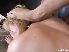 RawVidz Video: Kinky Whore's Anal Triple