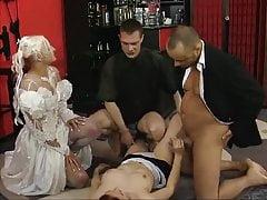 German retro pissing group