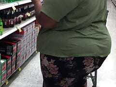 Fat Black Phatty Cougar strolling