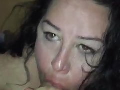 Gettin my cock sucked detach from a blas' housewife