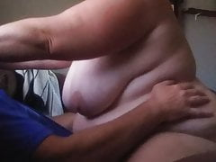 Broad in the beam tit bbw riding