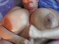 Giant Chest Maria Moore Titfucking