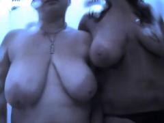 cabin voyeur duo busty