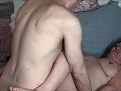 Blonde MILF fucked unending greatest extent hubby is filming