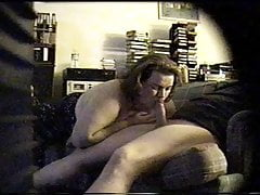 Sexy Big Tit Blowjob On The Couch