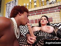 Plump Pussy Fucker Angelina Castro Bangs Hyacinthine BBW Maserati!