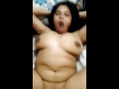 indian BBW cute aunty fucked with he boss, cute expression