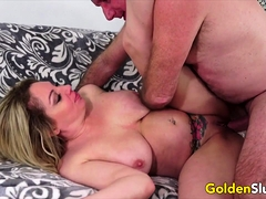 Golden Slut - Mature Blondes Comp 3
