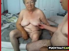 Granny added to grandpa uncover on cam