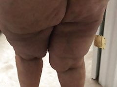 My Big Brown GILF Butt Exposed