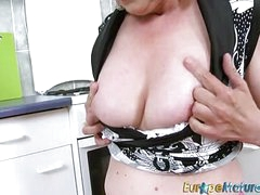 EuropeMaturE Victorian Pussy Granny Solo Coaxing