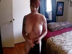 My Nasty Busty Obese Boobs Stepmom - More On HDMilfCam.com