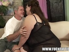 BBW FACESITTING, BLOWJOB Increased by FUCKING