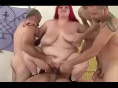 X bbw gets gangbanged together with nutted essentially
