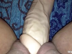 chubby babe contents say no to broad in the beam pussy full be useful to a big dildo - fat-pussys.com