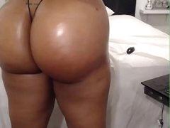 HD Fat irritant ebony on webcam - AdultWebShows.com