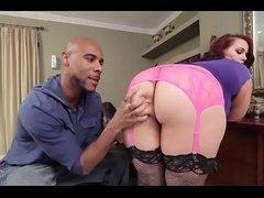 A black pauper called by phone to fuck a bbw(BBW/BBC)